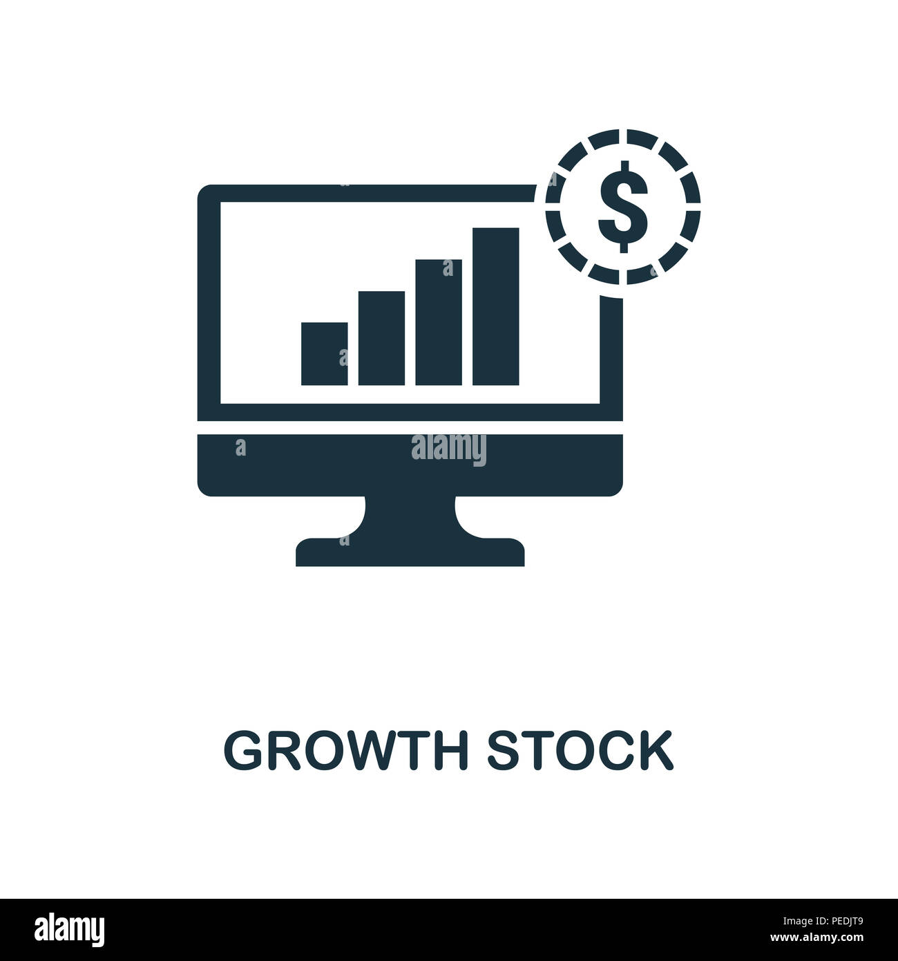 Arrow Up Growing Icon Design Stock Photos Arrow Up Growing Icon