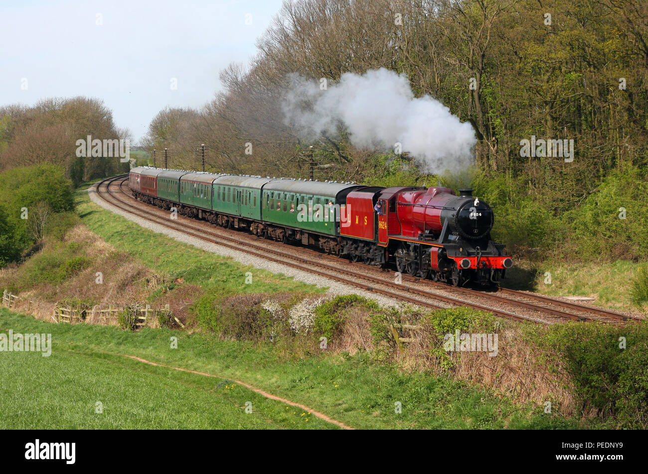 8624 Kinchley lane 1on the GCR 0.4.11 - Stock Image