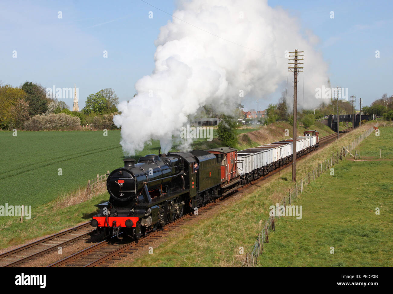 45160 Woodthorpe on the Great Central Railway 10.4.11 - Stock Image