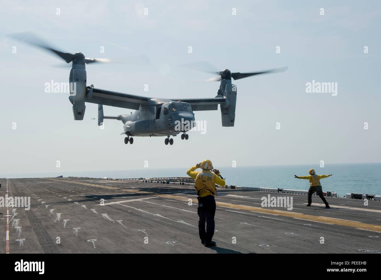 U S Navy Aviation Boatswains Mate Stock Photos Osprey Engine Diagram 150805 N Ax638 201 Atlantic Ocean Aug 5 2015