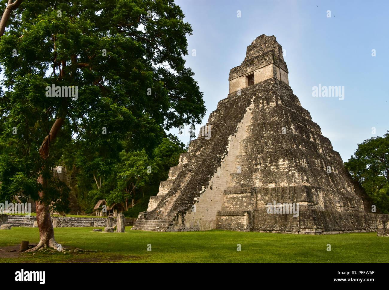 Tikal National Park, Guatemala - Stock Image