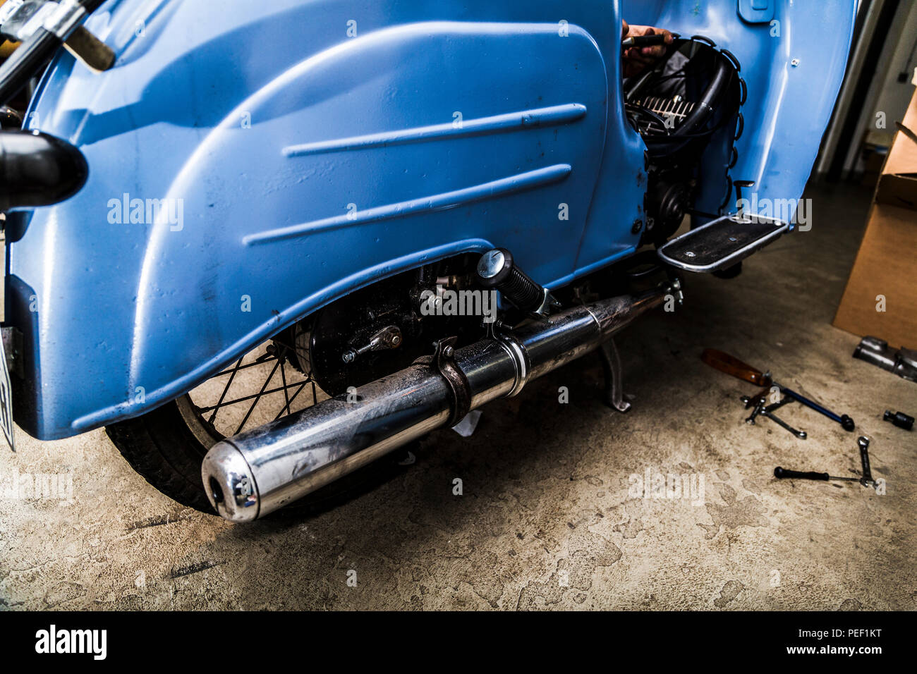 Exhaust Pipe Stock Photos & Exhaust Pipe Stock Images - Alamy