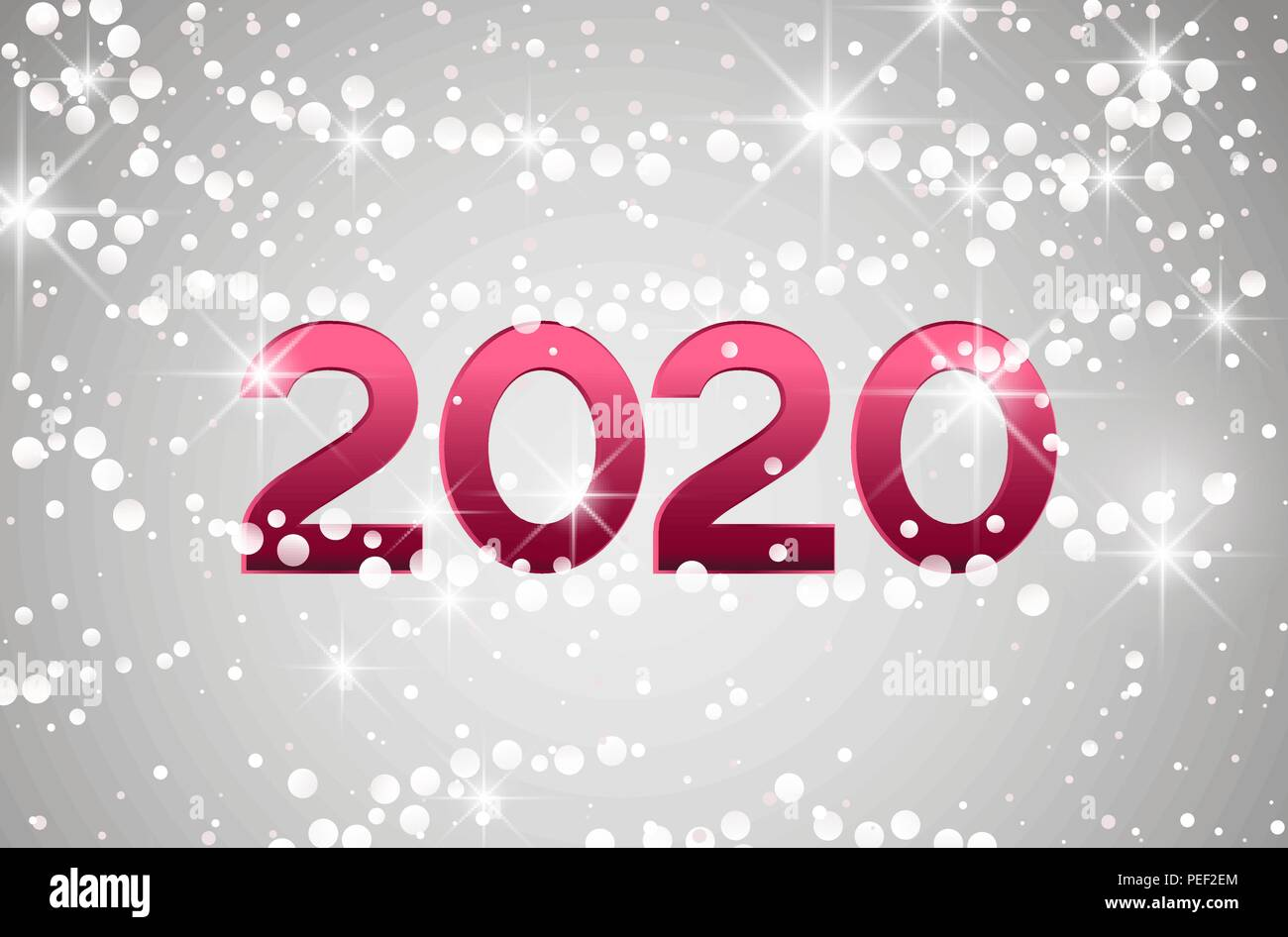 Merry Christmas Images 2020.Merry Christmas Card 2020 Happy New Year Background String