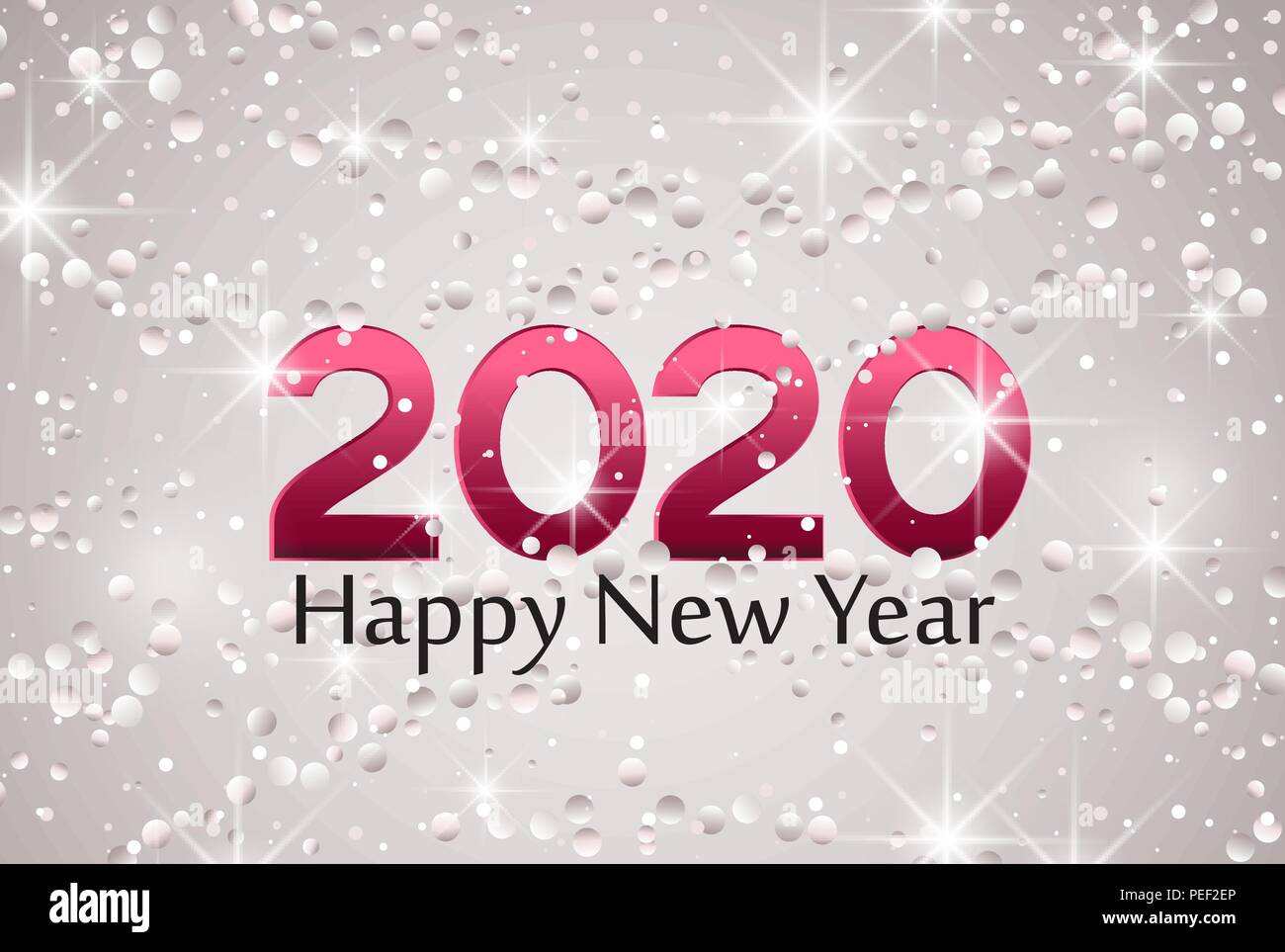 merry christmas card 2020 happy new year background string lights cheerful party and celebration