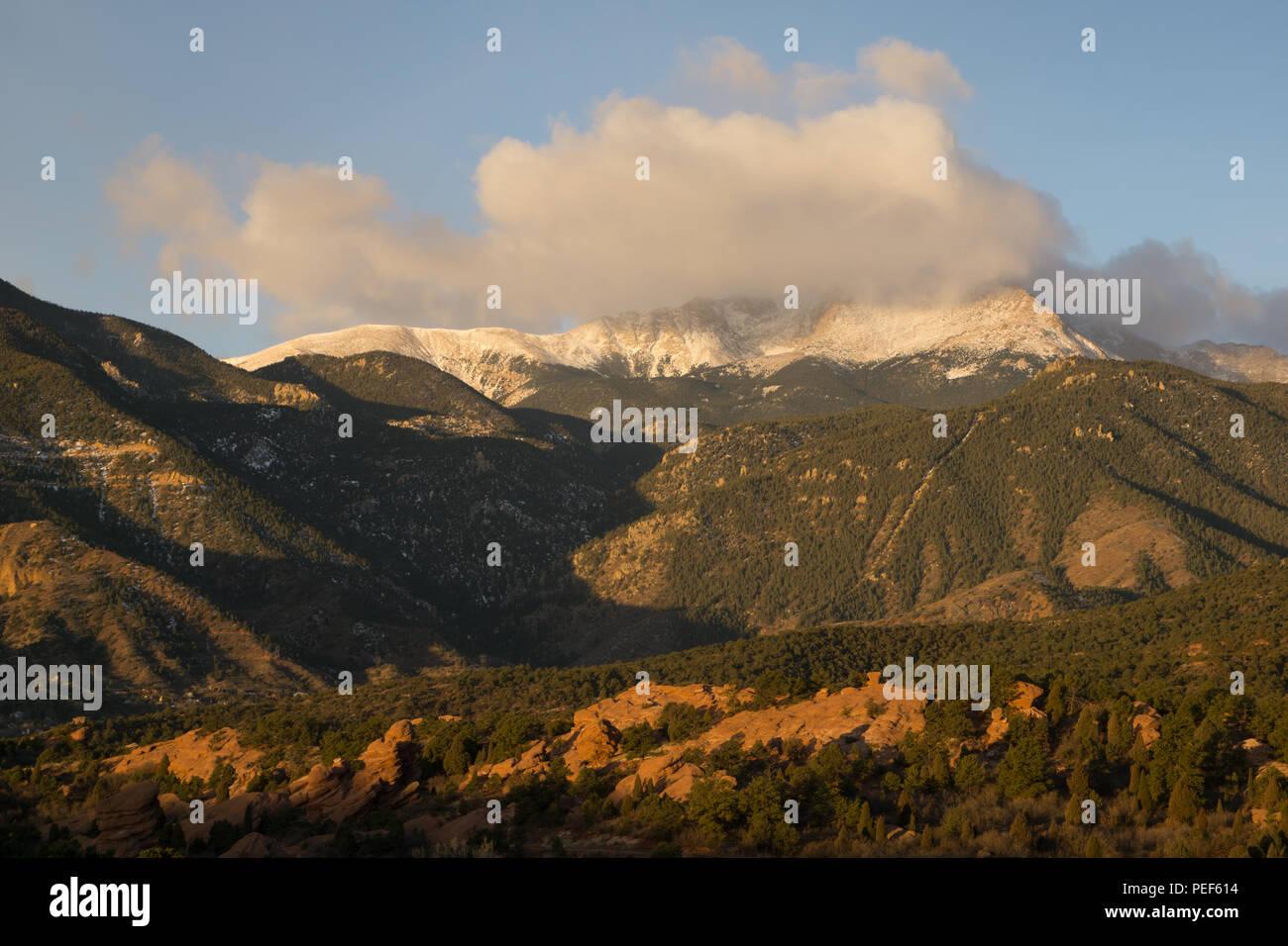 From The Garden of the Gods, Colorado Springs, Colorado. - Stock Image