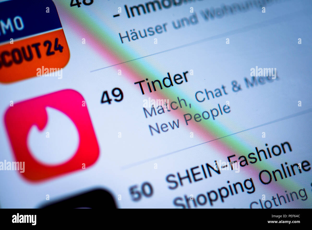 Dating-App nur für iphone