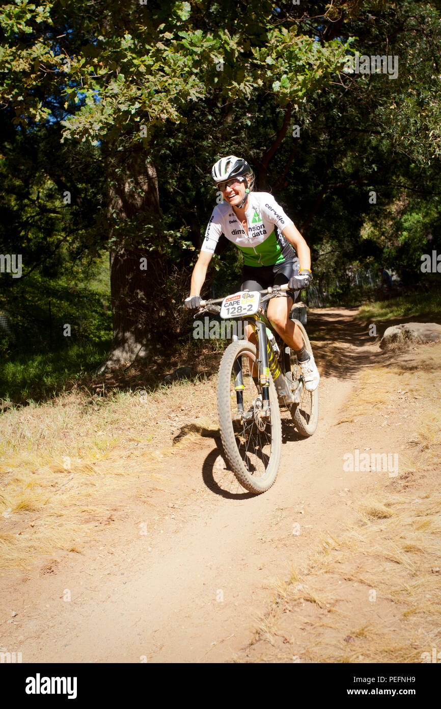 Prologue Stage, ABSA Cape EPIC, Time Trial stage. Friday, March 18, 2018 - Stock Image