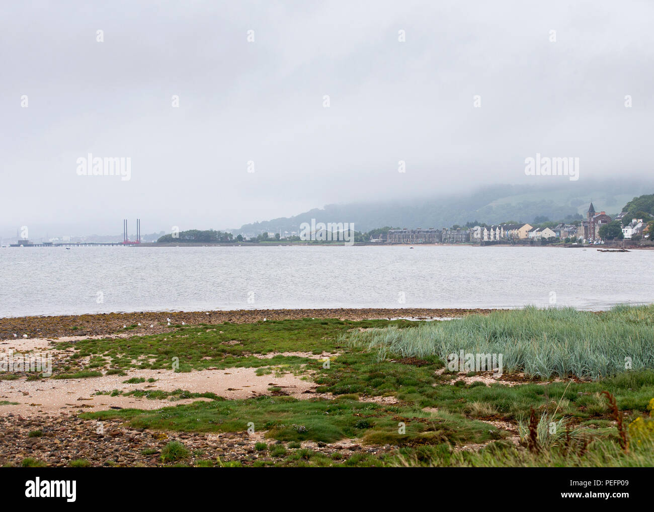 Town of Fairlie, North Ayrshire - Stock Image