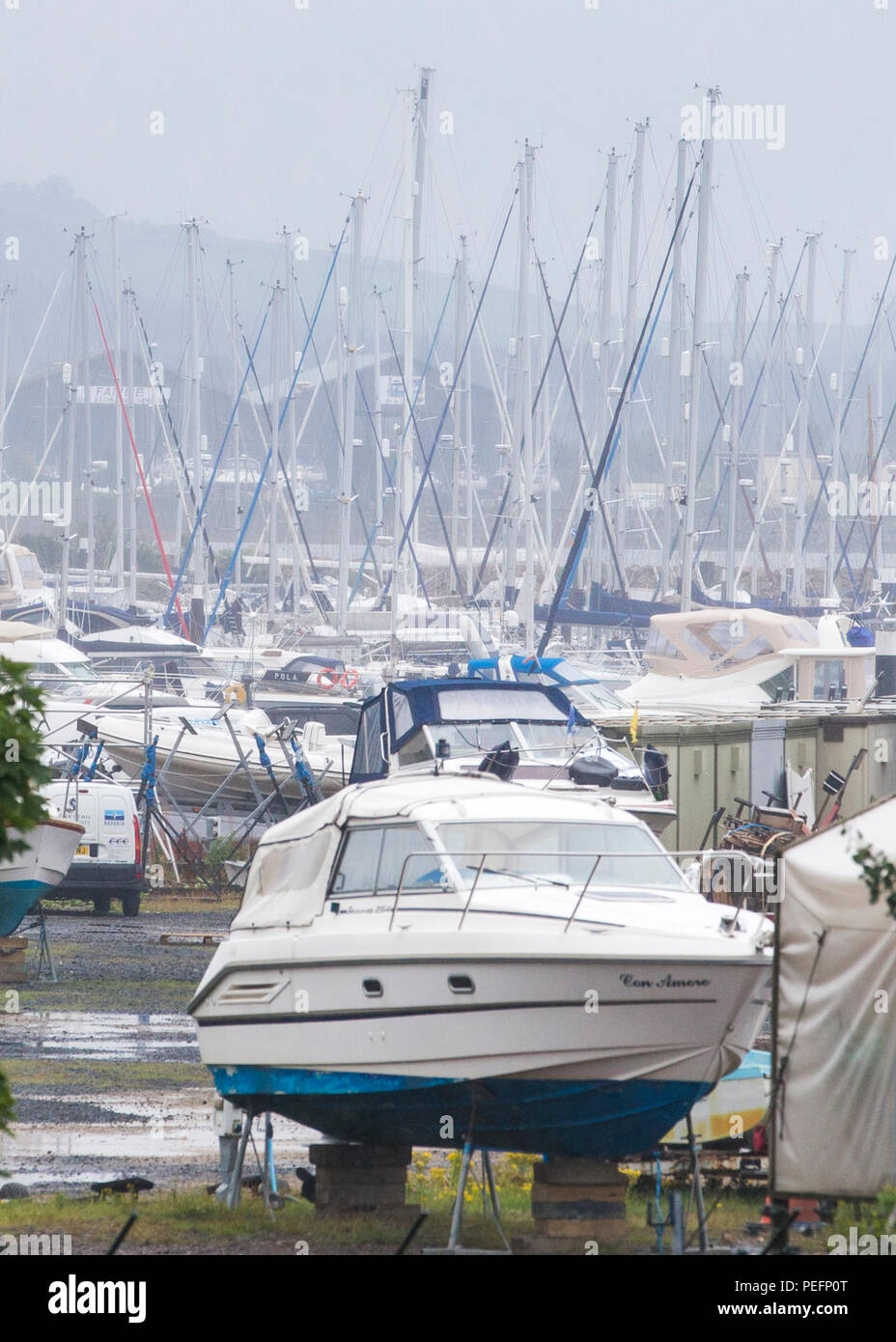 Largs Yacht Haven Marina, North Ayrshire, Scotland - Stock Image