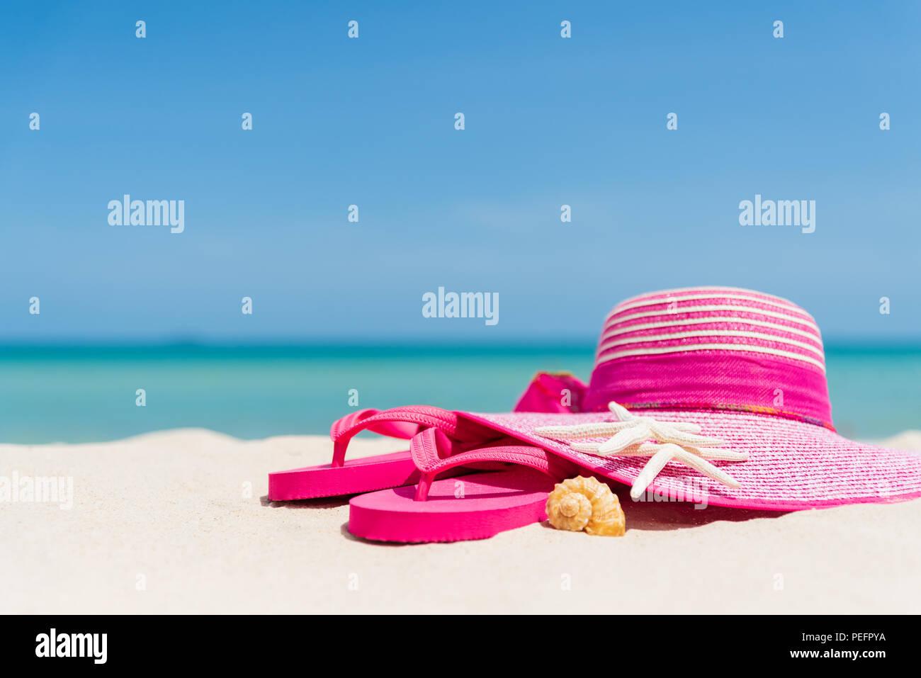 12f9e7a36015 Beach accessories including pink flip flop