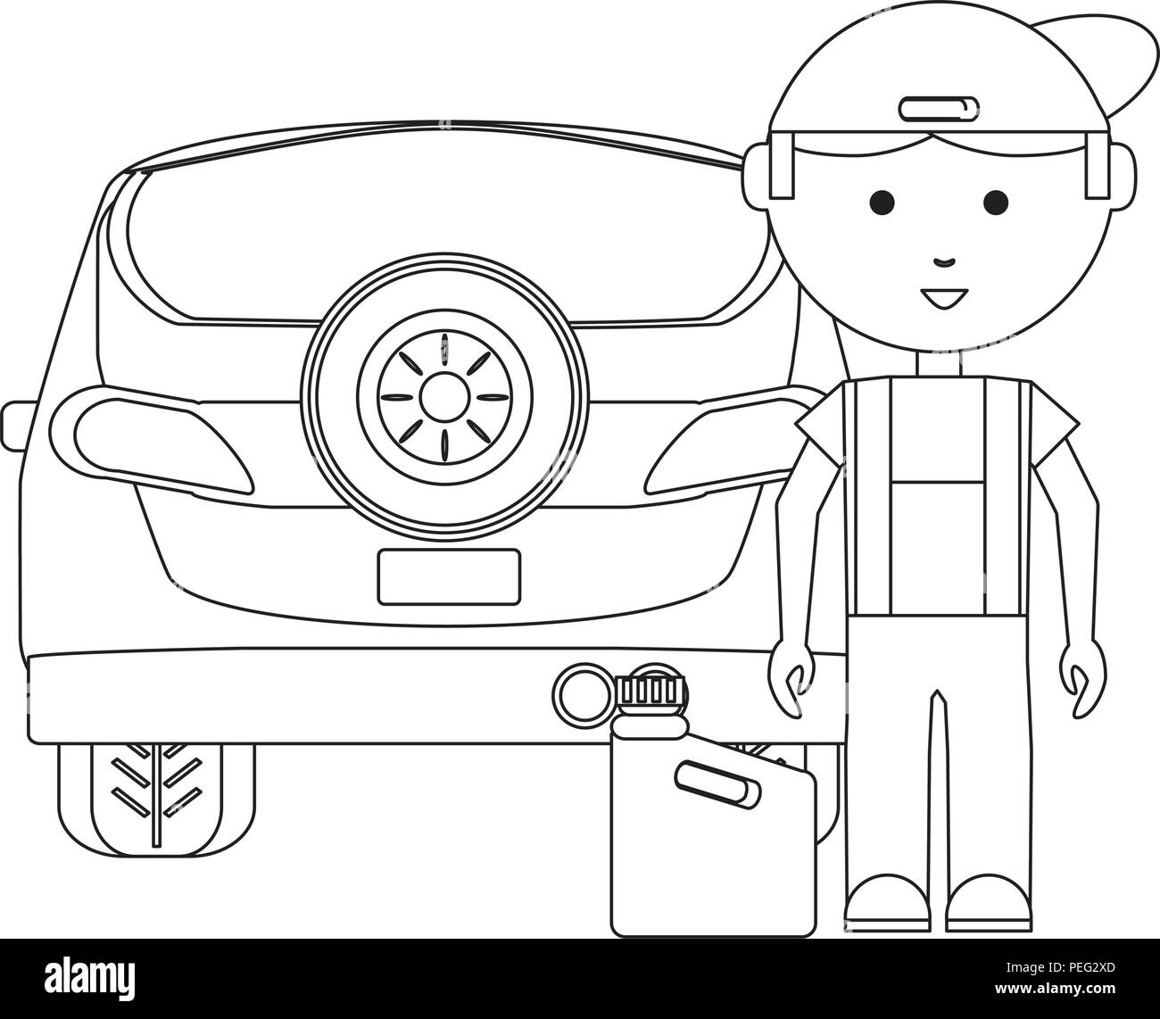 Car Workshop Black And White Stock Photos Amp Images Alamy