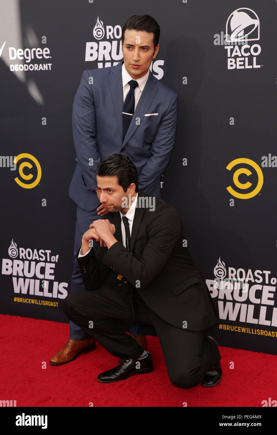 Celebrities Attend Comedy Central Roast Of Bruce Willis At The Hollywood Palladium Featuring Aristotle