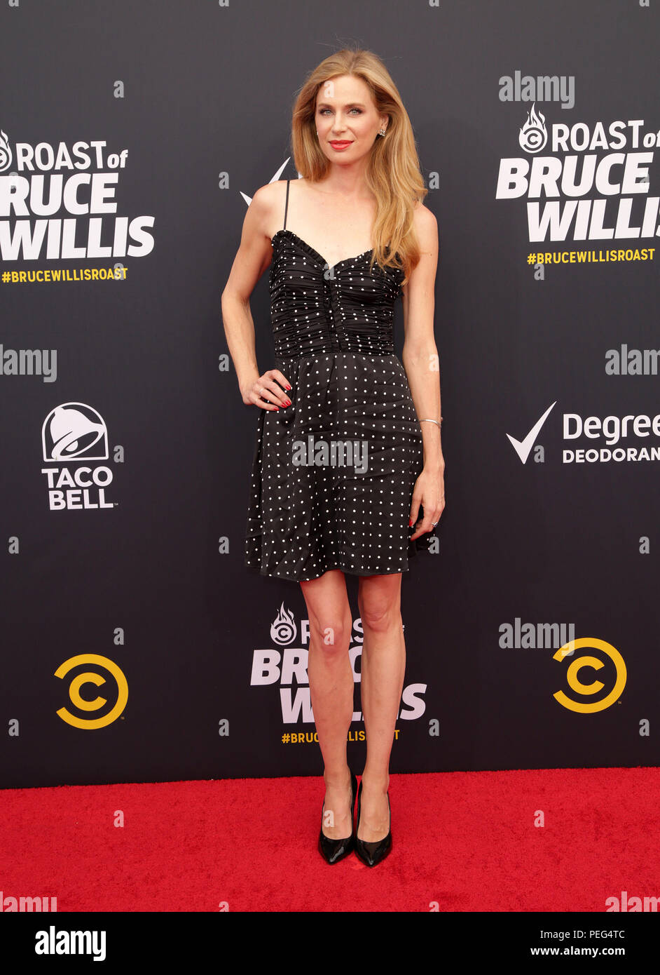 Celebrities Attend Comedy Central Roast Of Bruce Willis At The Hollywood Palladium Featuring Anne