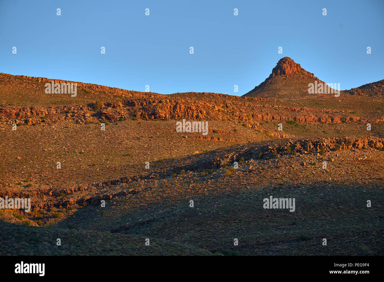 Biedouw Valley from Enjo Nature Farm Stock Photo