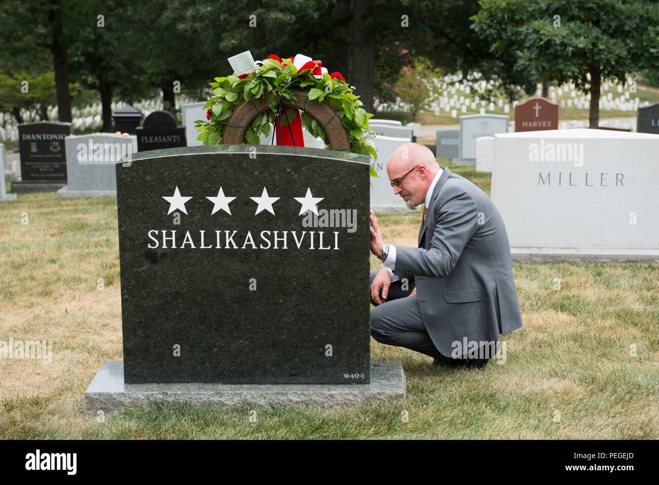 Brant Shalikashvili, son of U S  Army Gen  John M D