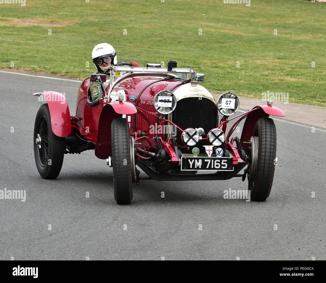 Classic 1936 Bentley 4 Derby Sports Saloon Sedan Saloon: Vintage Racing Bentley Stock Photos & Vintage Racing