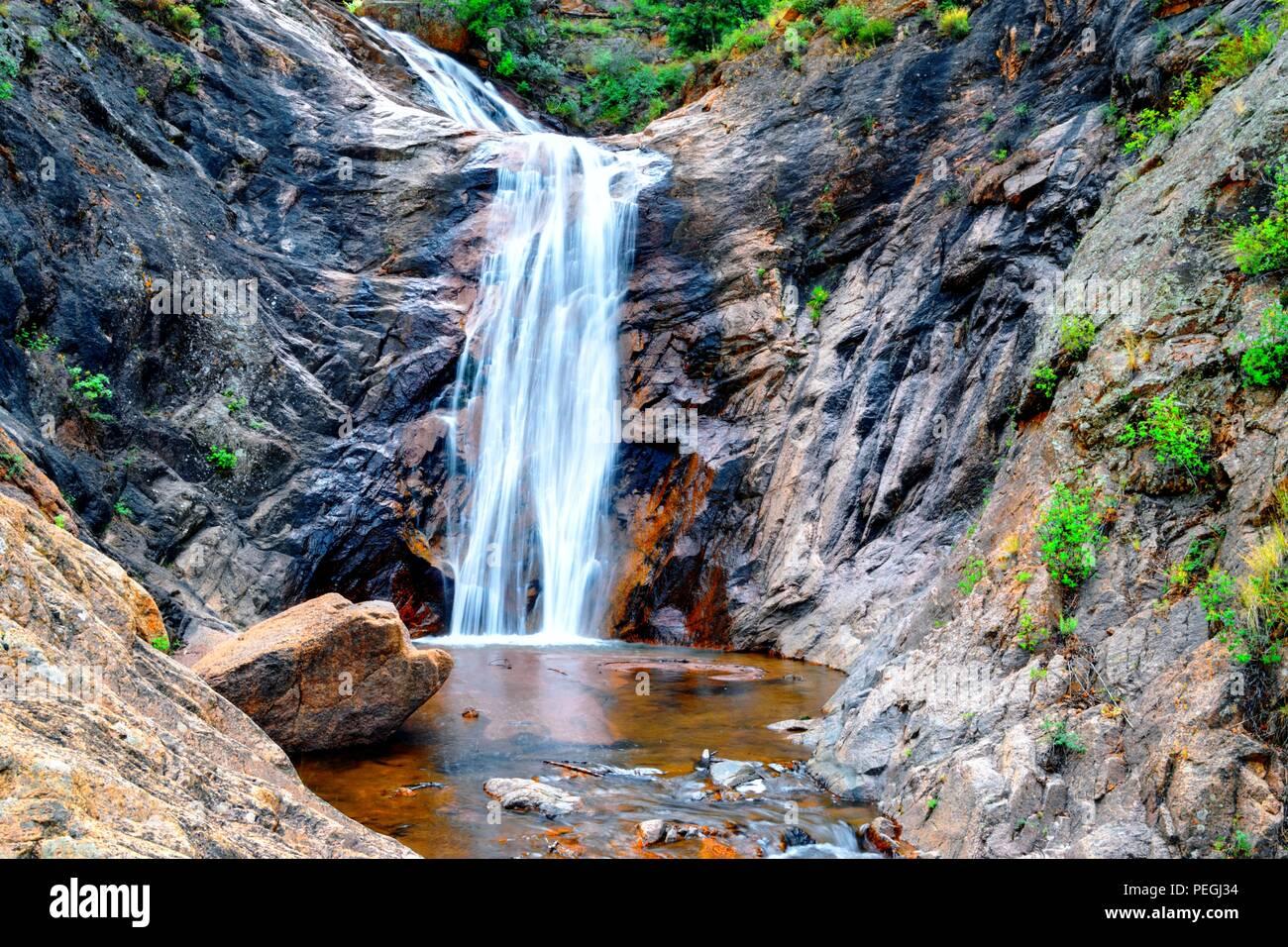Seven Falls, Colorado Springs, Colorado - Stock Image