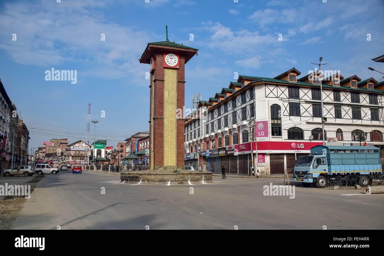 Kashmir  15th August, 2018  Kashmir valley observed complete