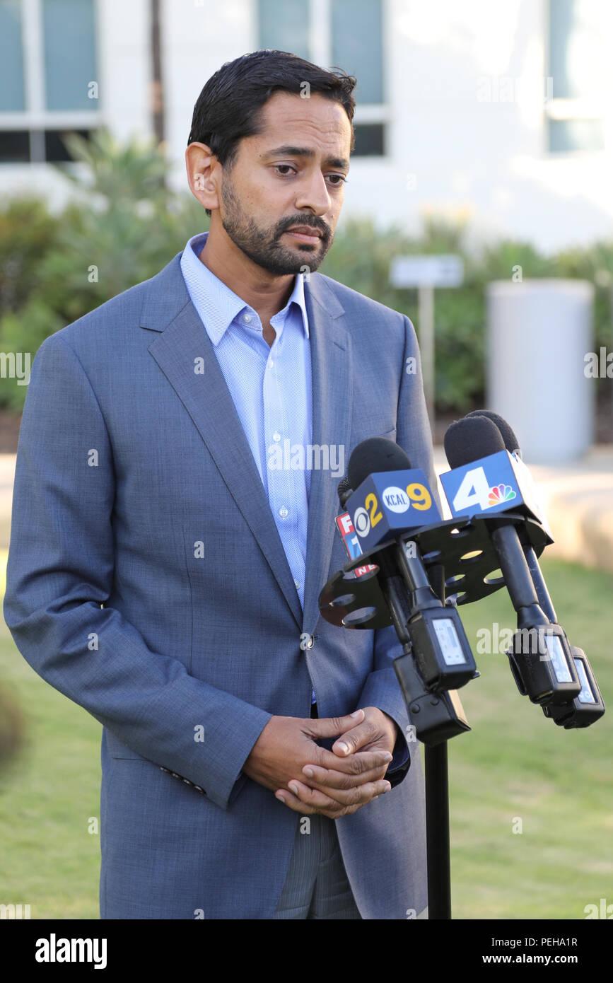 Santa Monica, California, USA  14th August, 2018  Anuj Gupta, Deputy