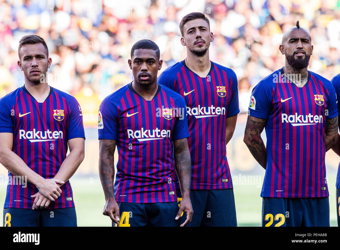 Barcelona Fc 2019 >> August 15 2018 The New Four Fc Barcelona Players For 2018 2019