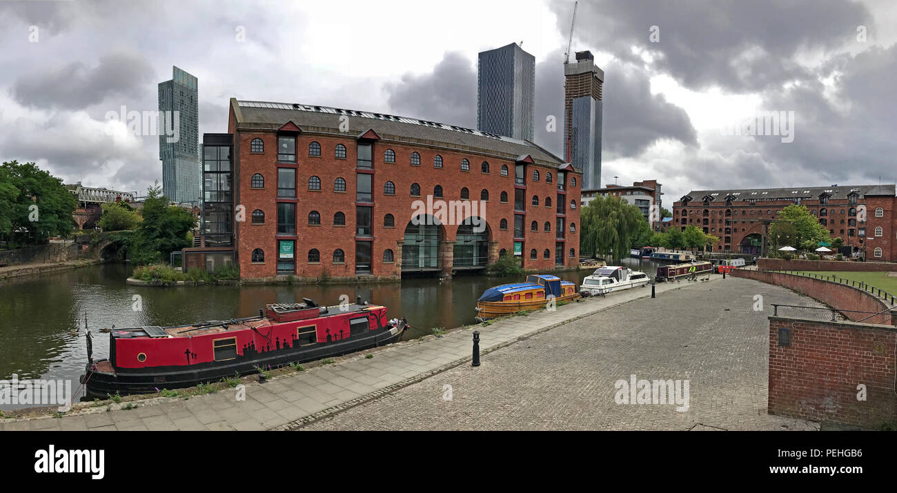 Castlefield, Manchester, North West England, UK, M3 4LZ - Stock Image