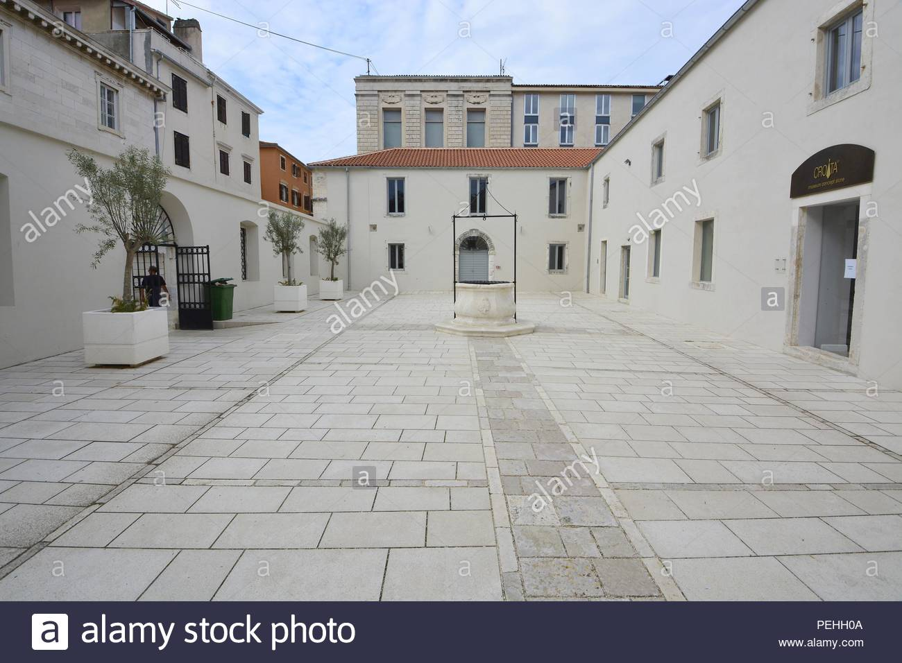Museum Concept Store In Zadar Stock Photos & Museum Concept Store In
