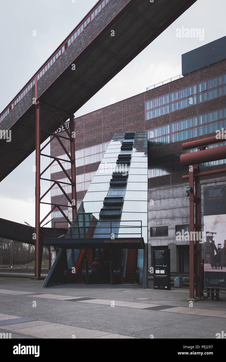Zeche Zollverein, Essen, Germany - Stock Image