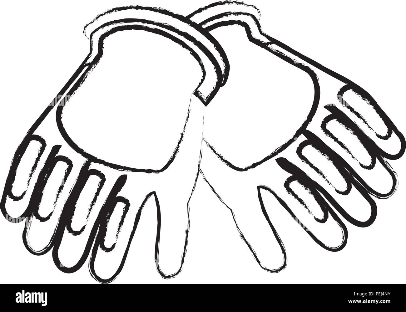 protective gloves stock vector images alamy PPE Storage construction gloves icon over white background vector illustration stock vector