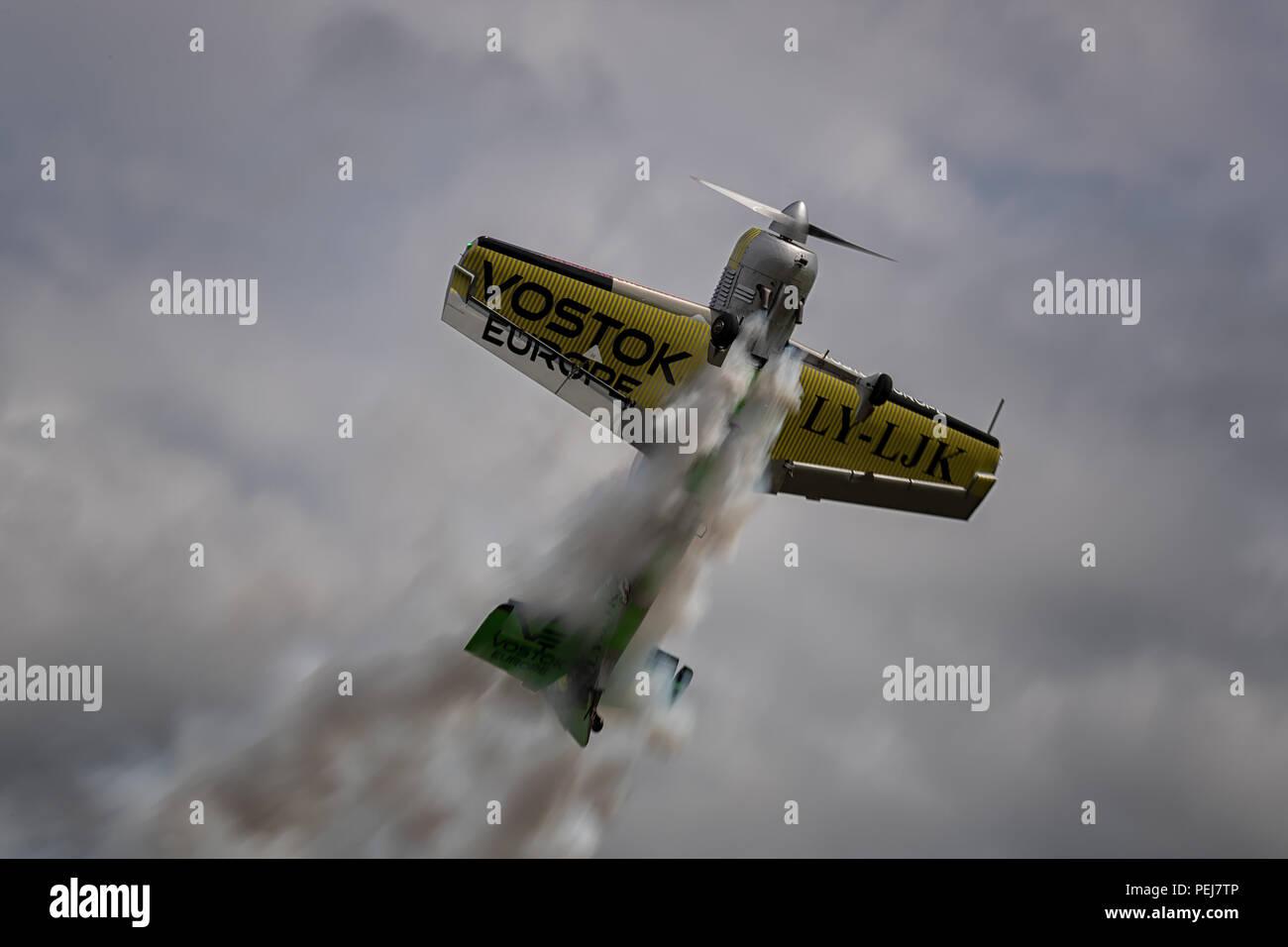 Aerobatic aircraft - Stock Image