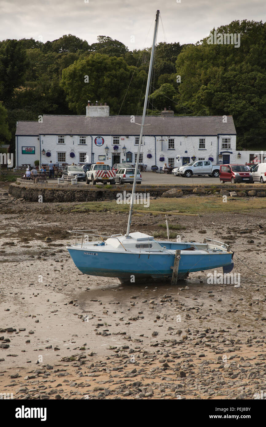 Red Wharf Bay Anglesey - Stock Image
