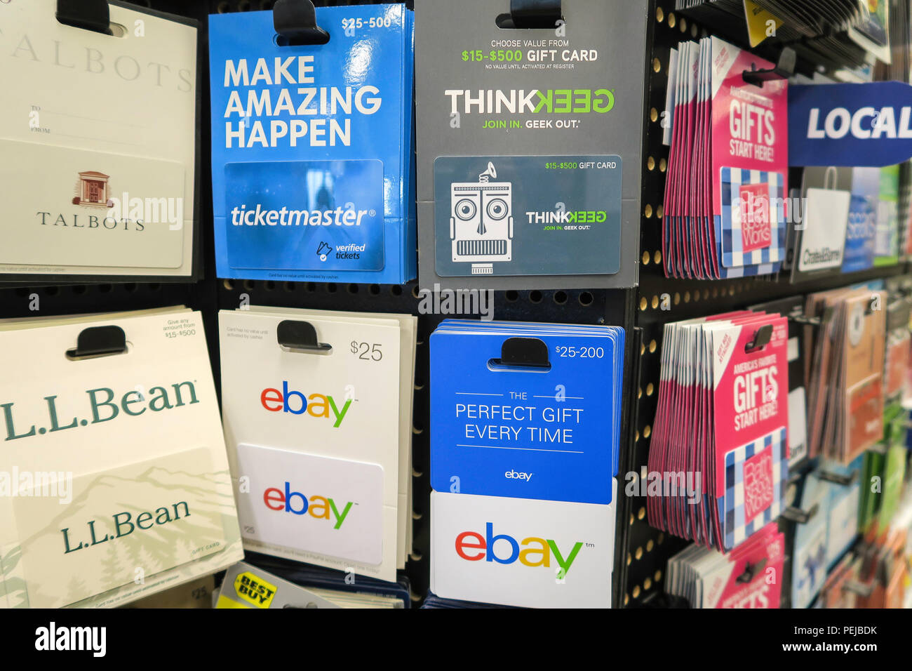 Prepaid Gift Cards at Smith's Food and Drug Store, now owned by
