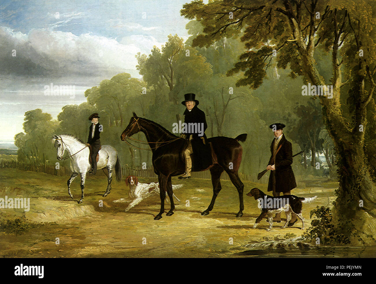 The Sorby Family, Herring, John Frederick, Sr. - Stock Image