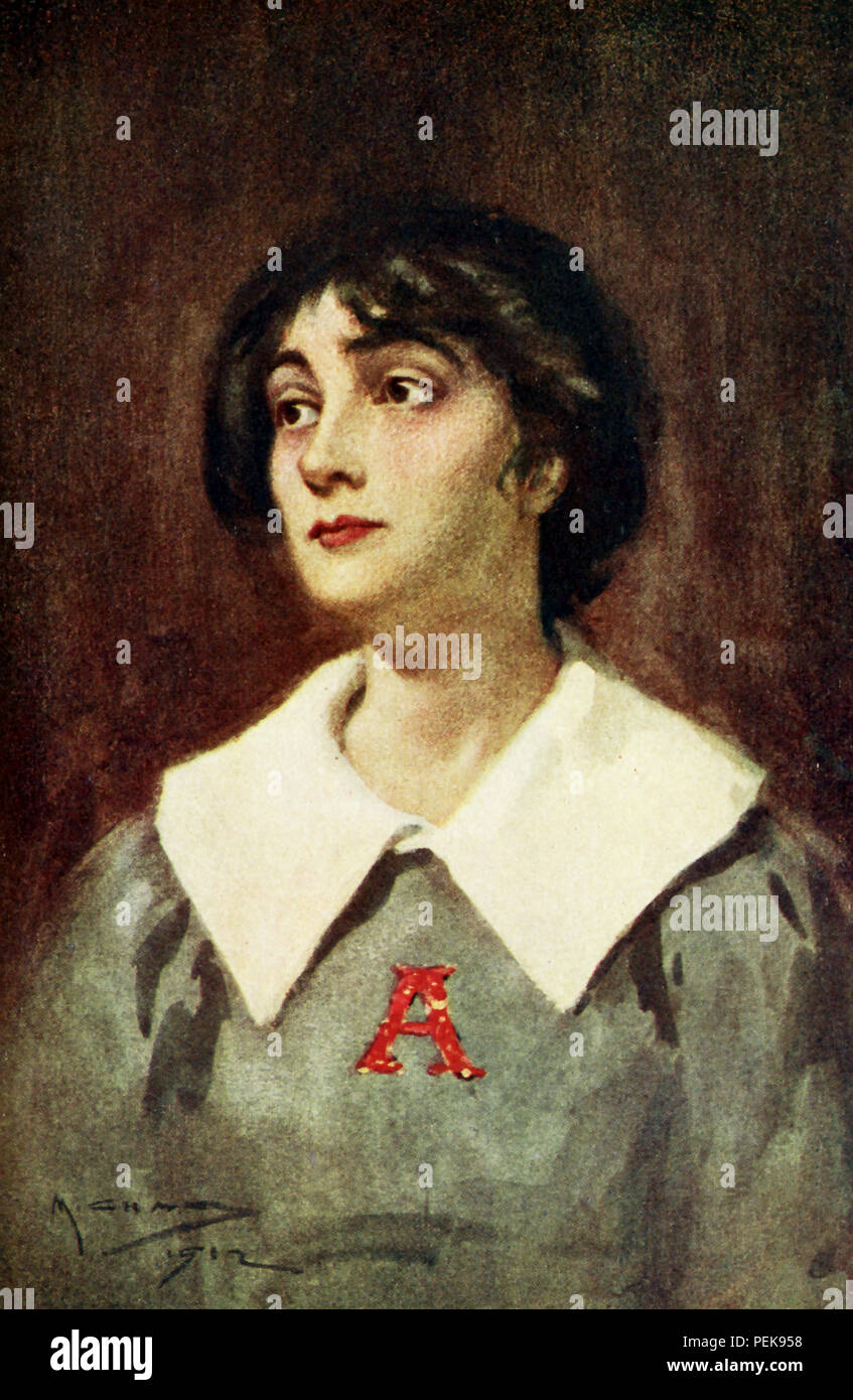 This illustrations dates to the early 1900s and shows Hester