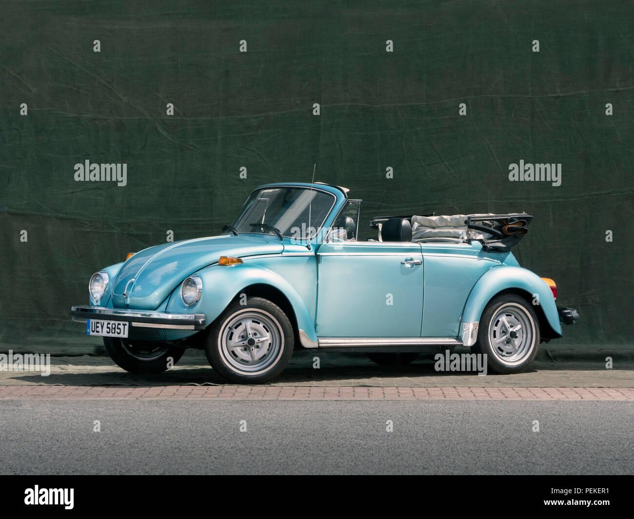 1979 VW Beetle convertible Stock Photo