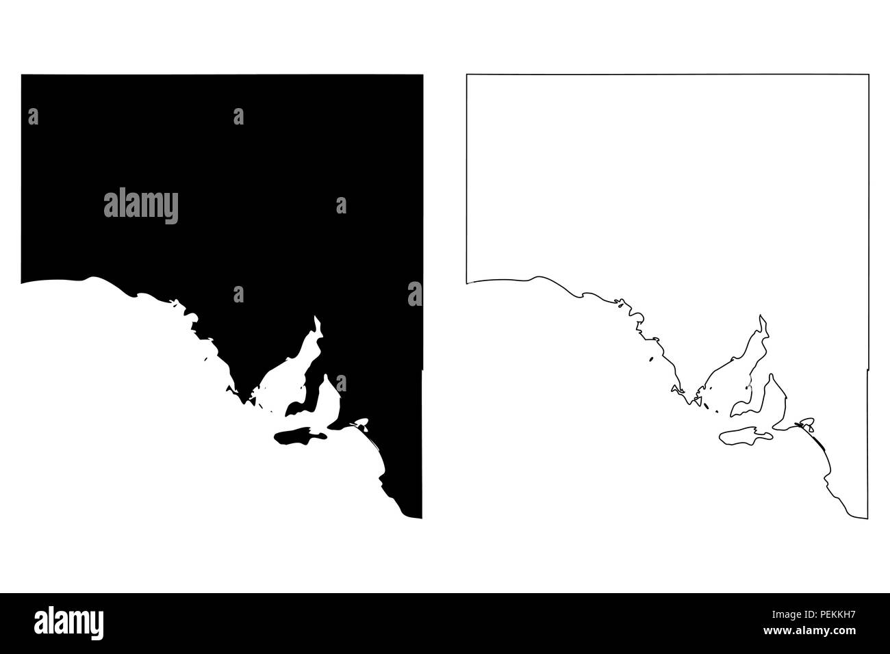 Australia Map States And Territories.South Australia Australian States And Territories Sa Map Vector