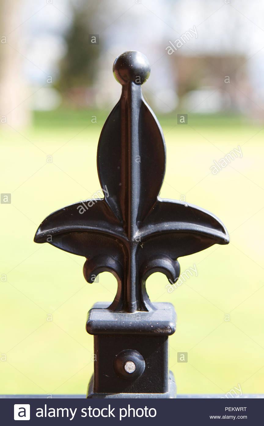 Fleur De Lis Fence Stock Photos & Fleur De Lis Fence Stock Images ...