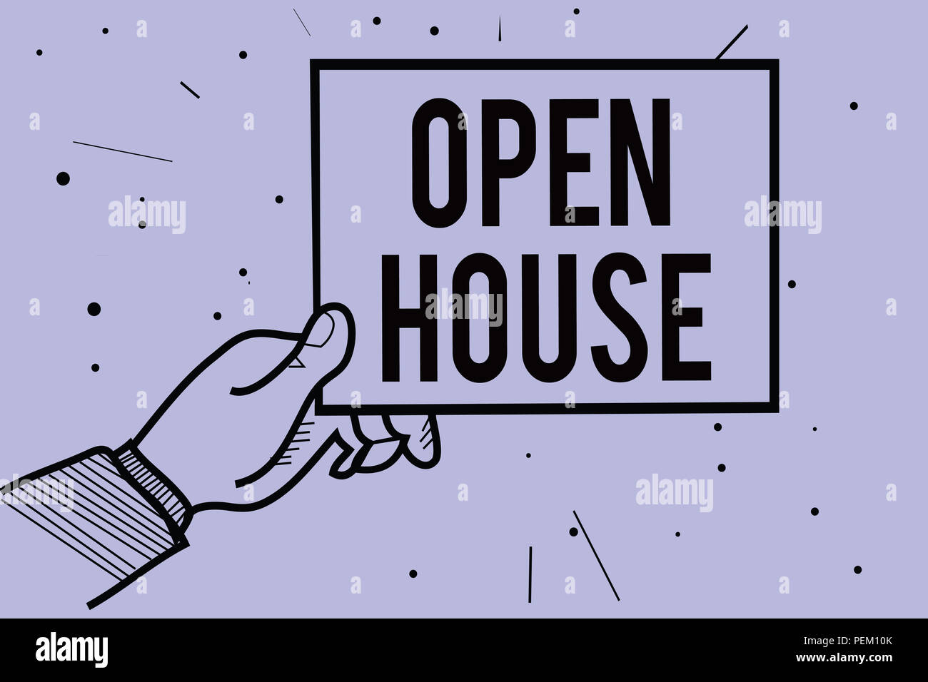 Sell house home meaning property stock photos sell house home handwriting text writing open house concept meaning you can come whatever whenever want make yourself solutioingenieria Images