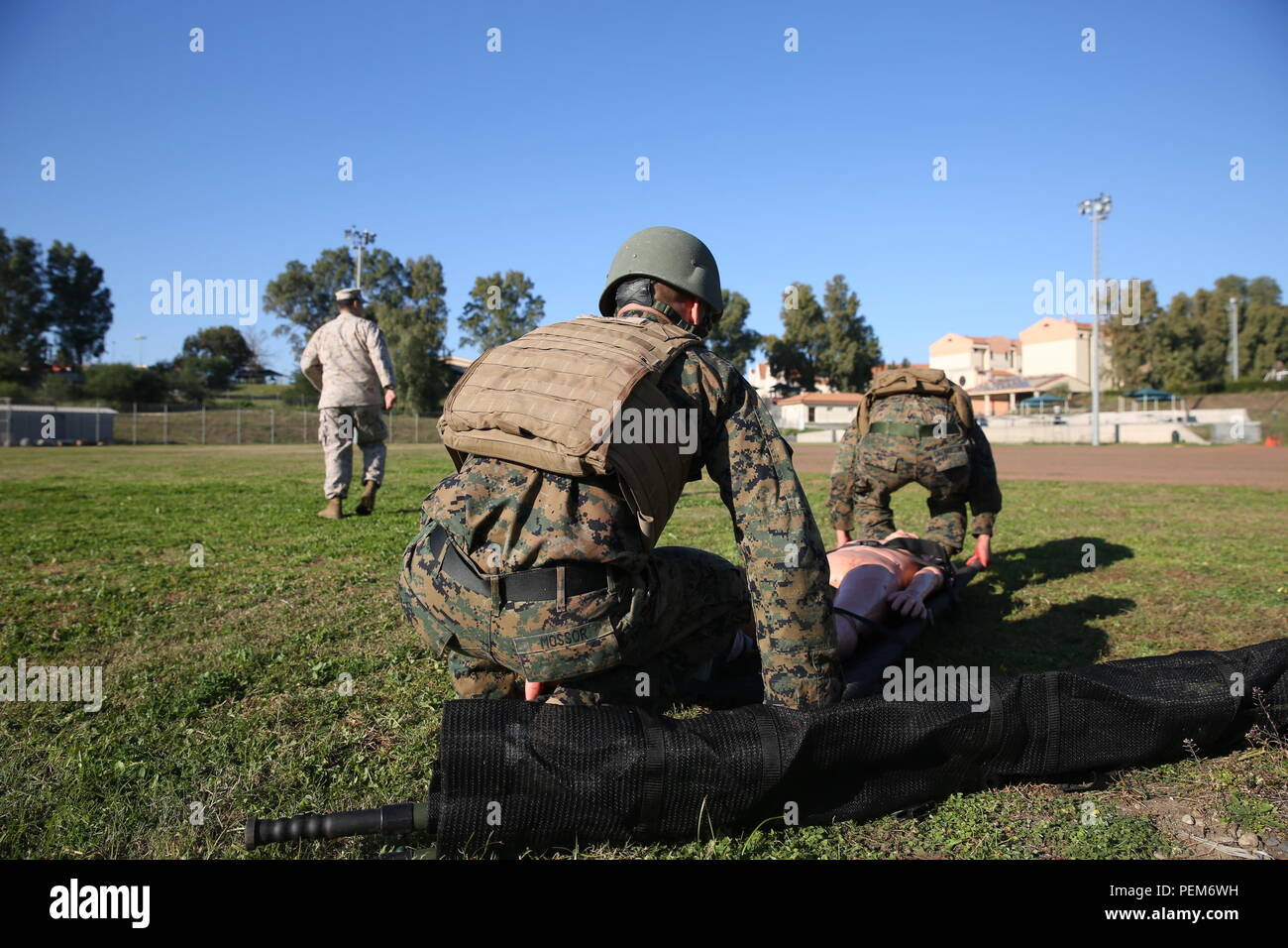 Nearly 30 Marines participated in a Tactical Combat Casualty