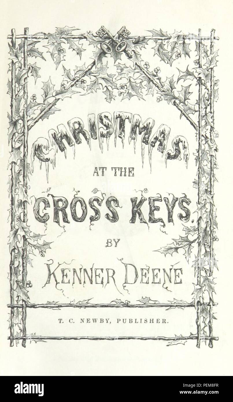 Historic archive Image taken from page 11 of \'Christmas at the Cross ...