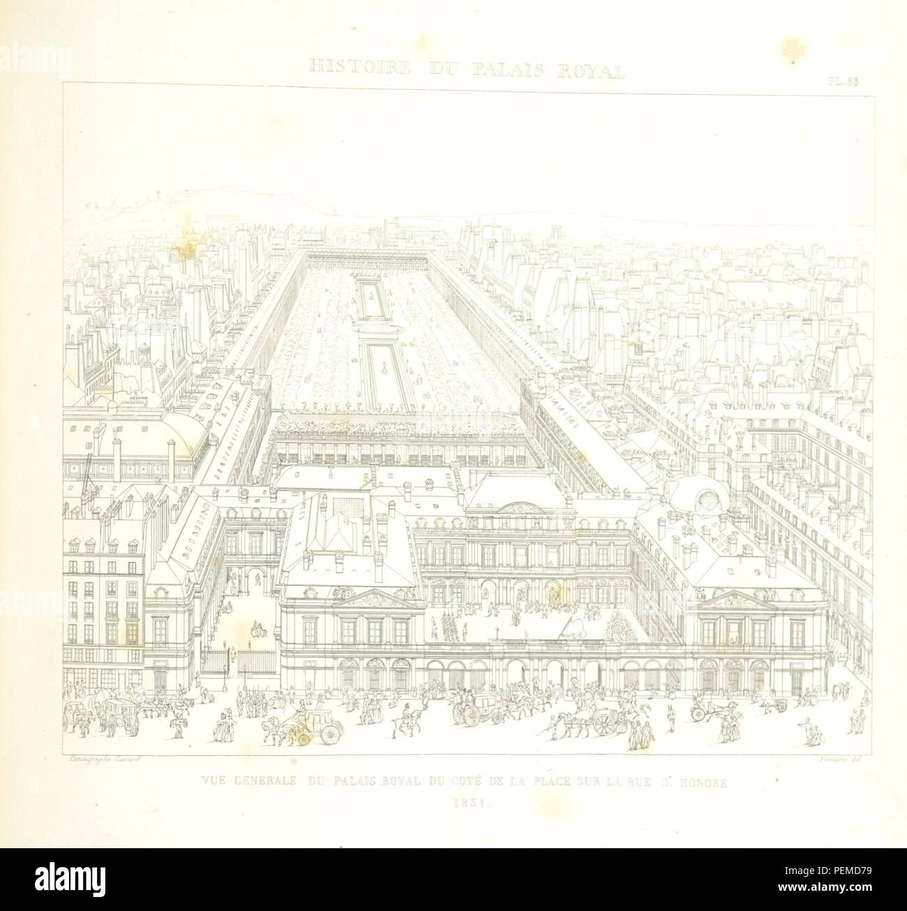 L 159 Stock Photos Images Page 3 Alamy Fontaine Wiring Diagram Historic Archive Image Taken From Of Histoire Du Palais Royal By