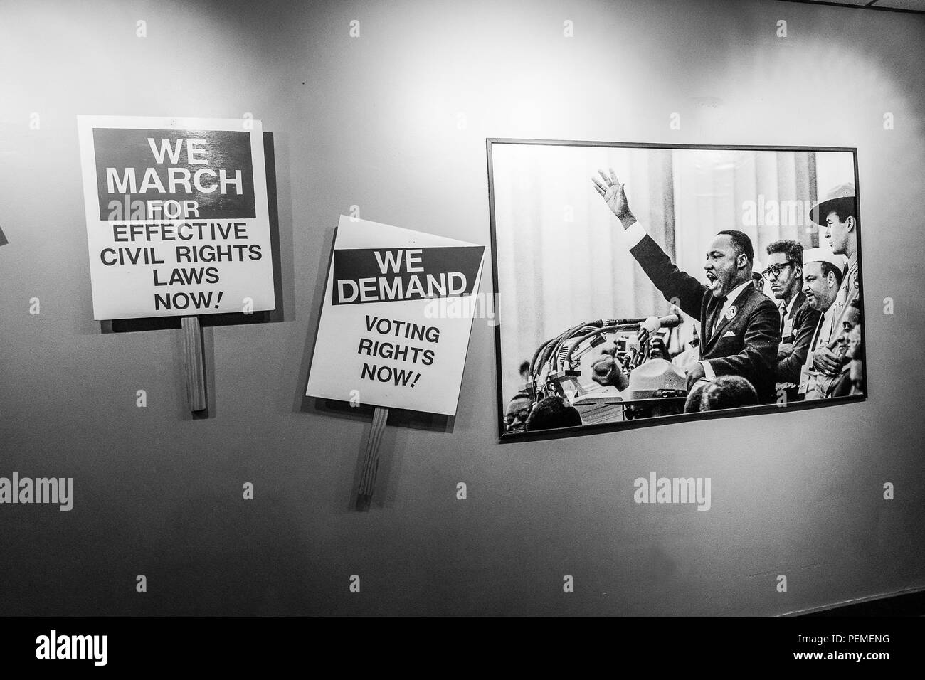Martin Luther King, Jr. National Historic Site - Stock Image