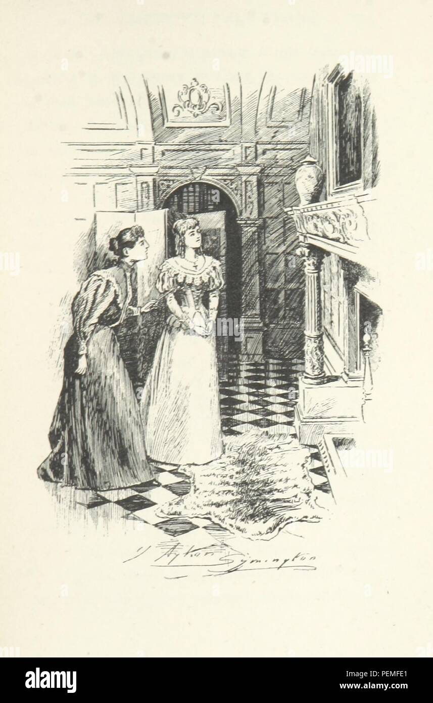 Historic archive Image taken from page 269 of 'The Shadow on the Blind, and other ghost stories' Stock Photo