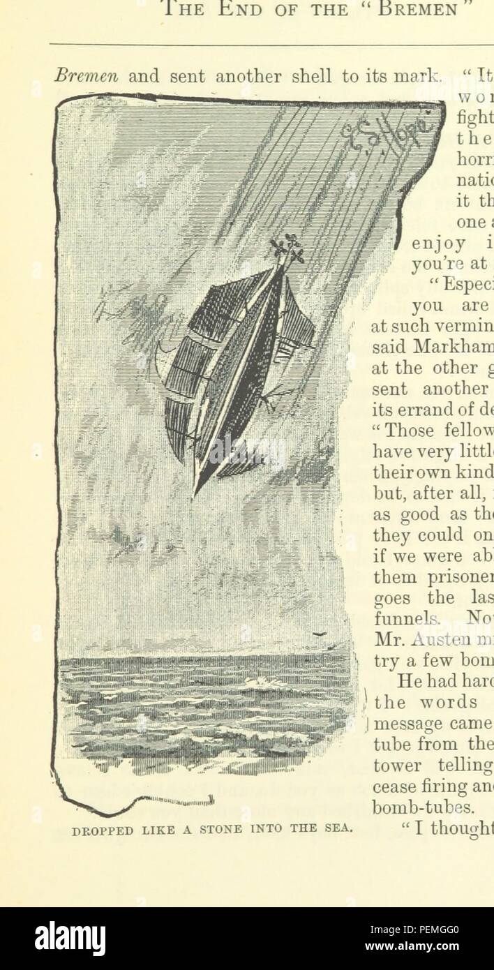 Historic archive Image taken from page 333 of 'The Outlaws of the Air, etc' Stock Photo