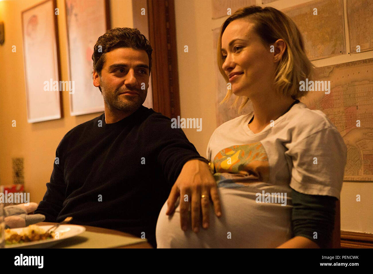 LIFE ITSELF 2018 FilmNation Entertainment film with Olivia Wilde and Oscar Isaac - Stock Image