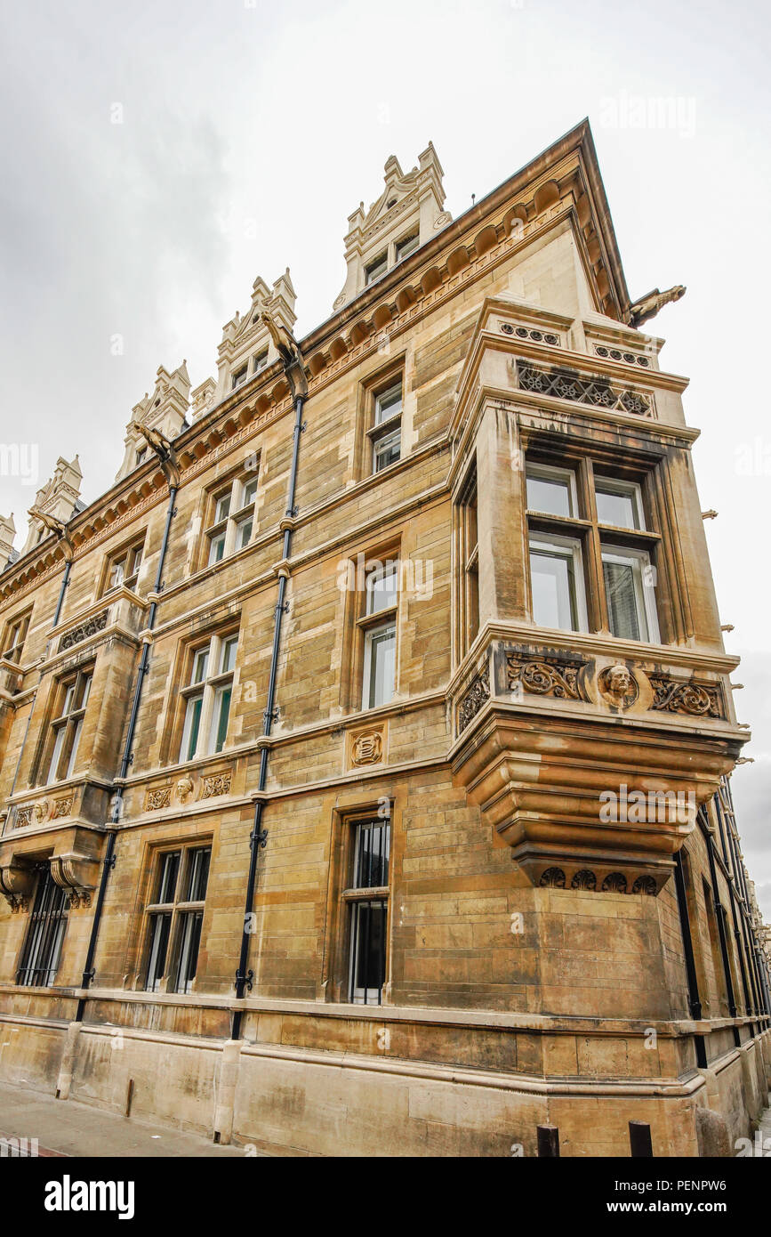 Gonville & Caius College, University of Cambridge. U.K. - Stock Image