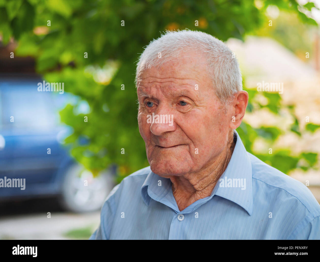 the very old man