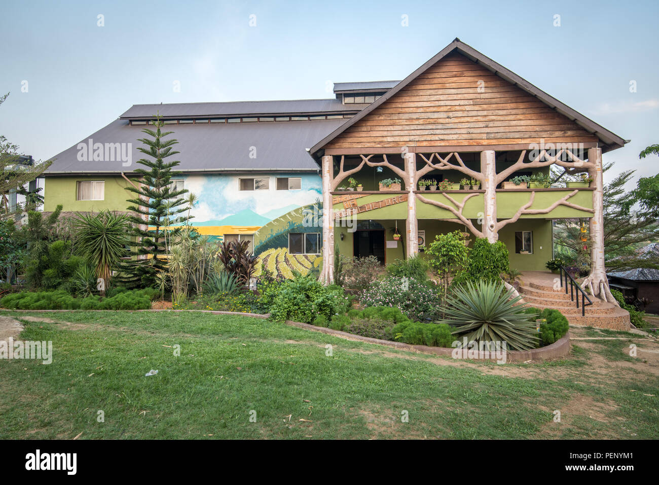 An image of the school of Agriculture in Ganta,Liberia - Stock Image