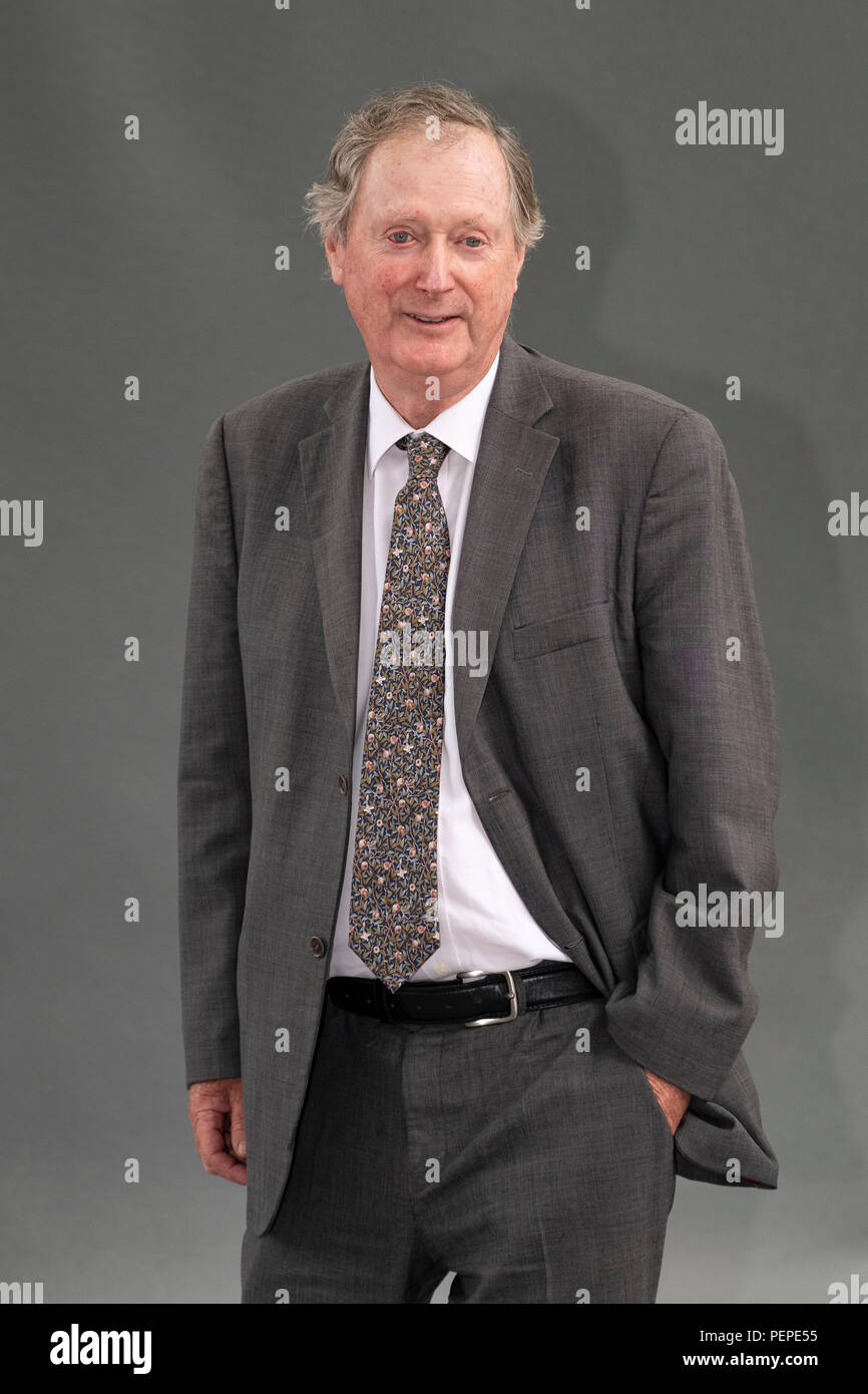 Edinburgh, Scotland, UK; 17 August, 2018. Pictured; Ferdinand Mount, the writer and columnist. In his book 'Prime Movers', he discusses 12 key political thinkers who have fascinated him and the problems he has identified in their thinking. Credit: Iain Masterton/Alamy Live News Credit: Iain Masterton/Alamy Live News - Stock Image