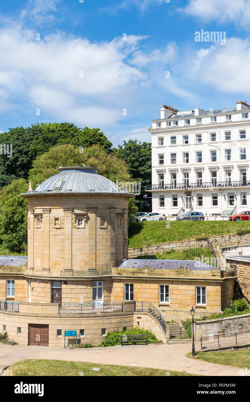 the rotunda museum or The Rotunda – The William Smith Museum of Geology scarborough yorkshire north yorkshire scarborough uk gb europe - Stock Image
