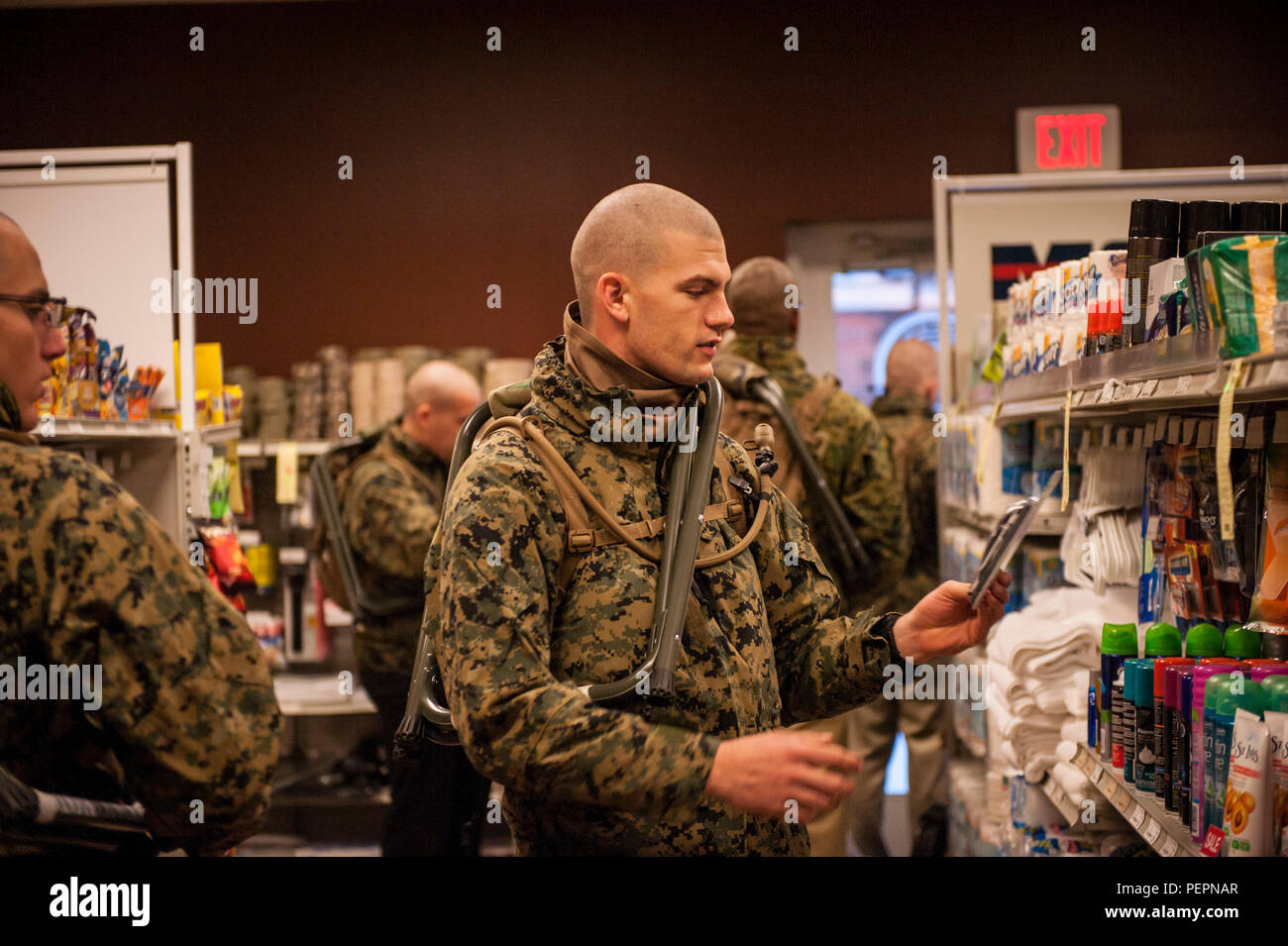 Marine Officer Candidates Attending Officer Candidate Class 221